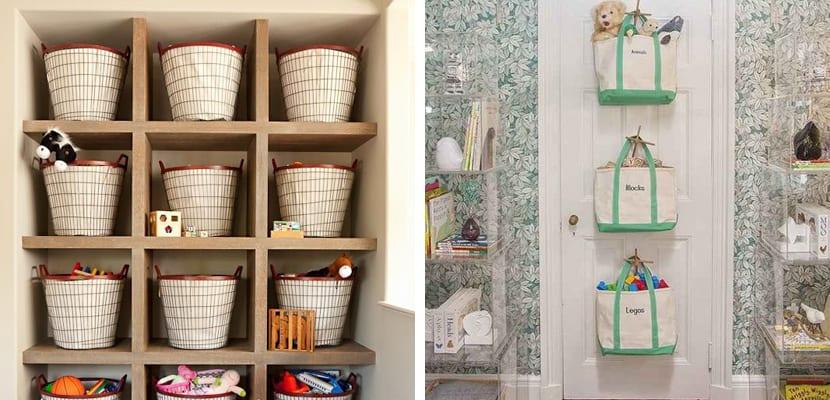 Ideas para organizar los juguetes - Cestas para guardar juguetes ...