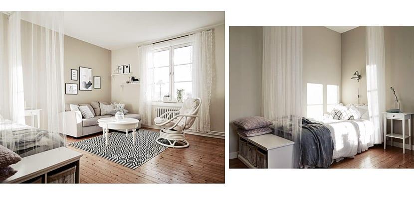Pisos decorados en blanco fotografia decoracion atico - Pisos decorados con encanto ...