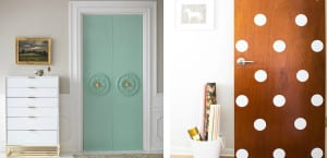 Puertas DIY decoradas