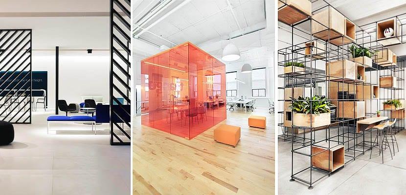 Ideas modernas para separar espacios en la oficina for Espacios para oficinas