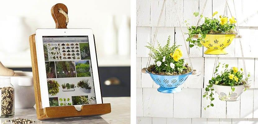 Ideas creativas para reciclar tus utensilios de cocina for Objetos para decorar cocinas