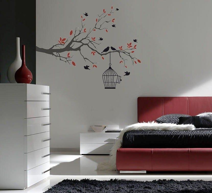 C mo usar los vinilos para decorar una habitaci n for Viniles para recamaras