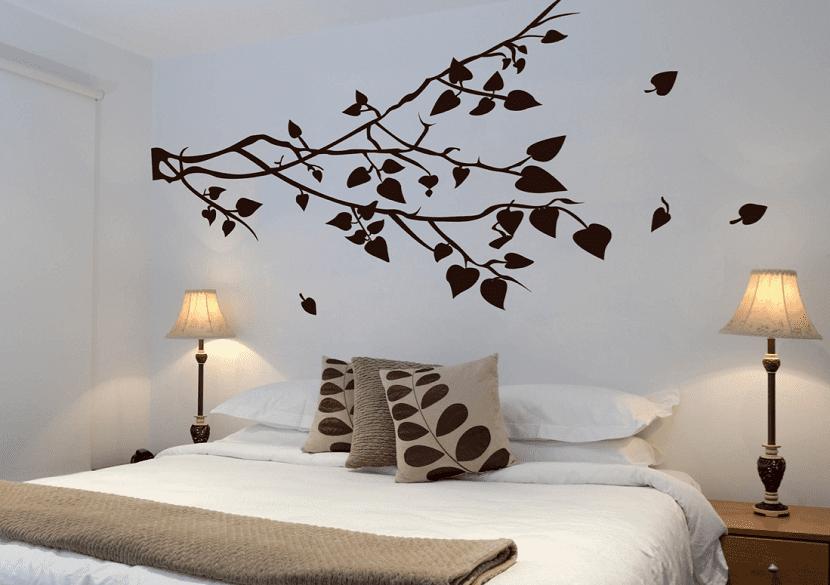 C mo usar los vinilos para decorar una habitaci n for Pegatinas para decorar habitaciones