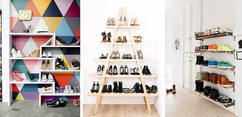 Diferentes ideas para organizar los zapatos for Muebles para zapatos colombia
