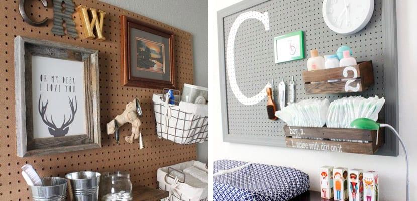 Aprovechar las paredes en la habitación del bebé