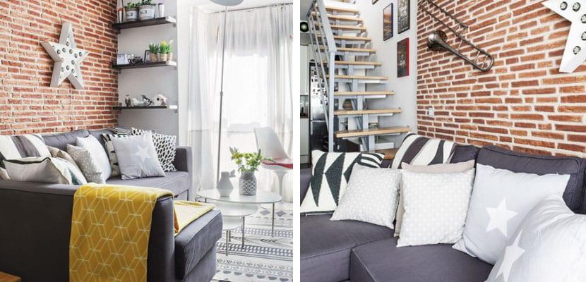 Salón del pequeño apartamento