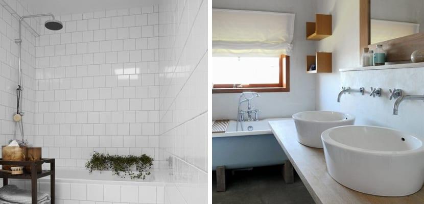 Baño en estilo escandinavo