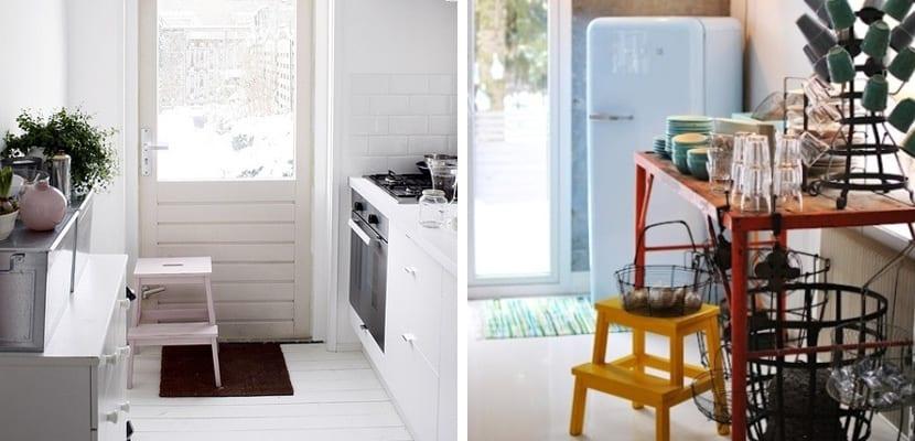 Bekvam de Ikea en la cocina