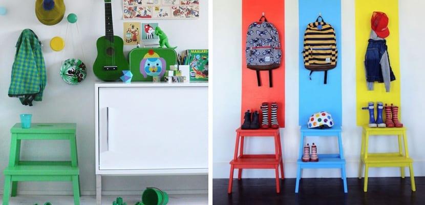 Bekvam de Ikea en colores