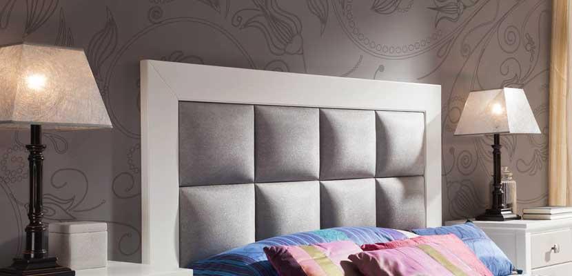 Ideas para renovar cabeceros de cama for Cabeceros de cama tapizados