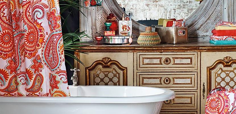 Camino a Marruecos baño