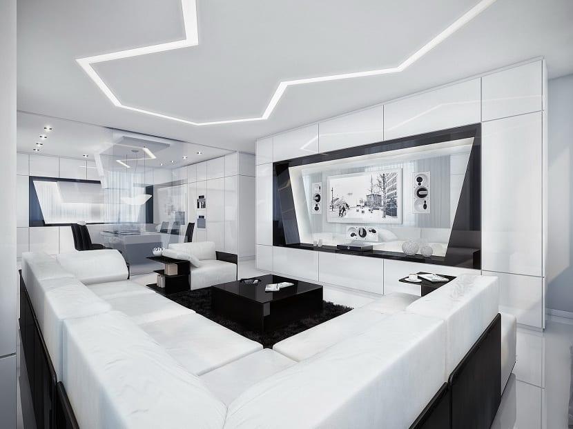 Cómo decorar tu casa con el estilo futurista