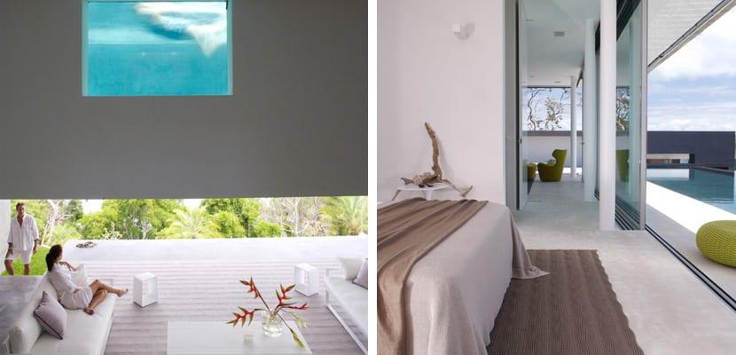 Casa minimalista con zonas abiertas