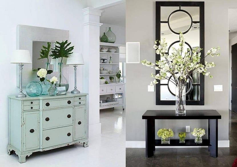 Cómo decorar un recibidor en un espacio pequeño