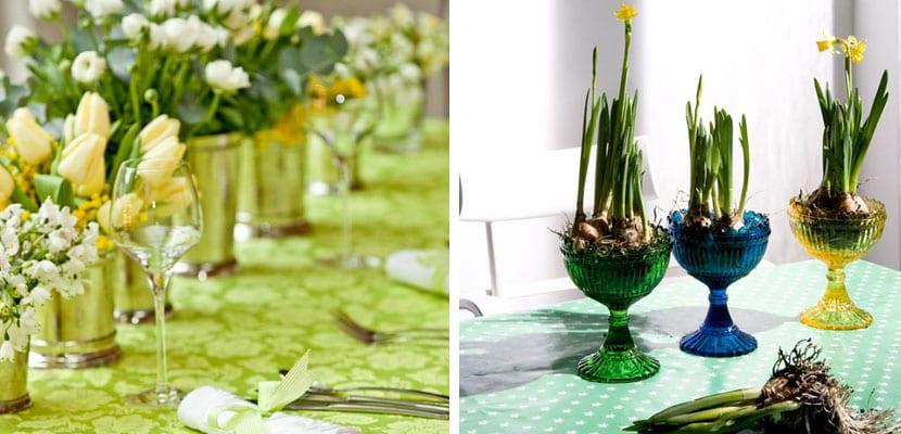 Centros para mesas de primavera