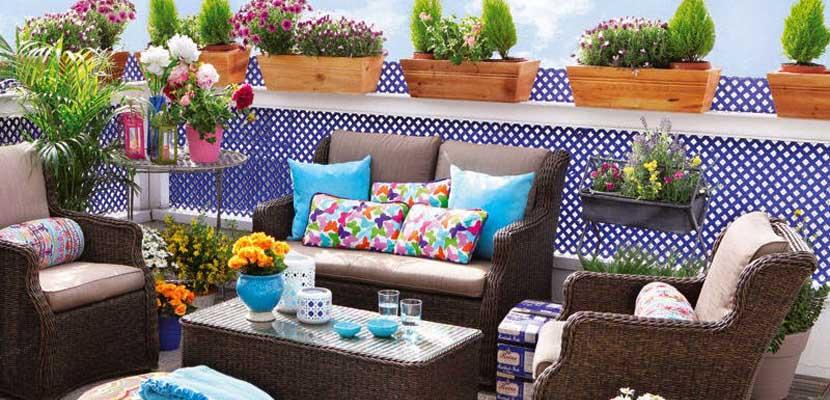 Decorar la terraza para la primavera