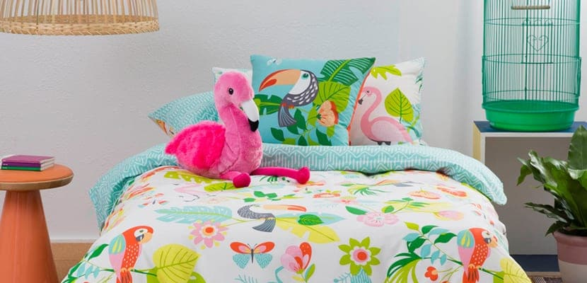 Dormitorio infantil tropical en Kas Australia