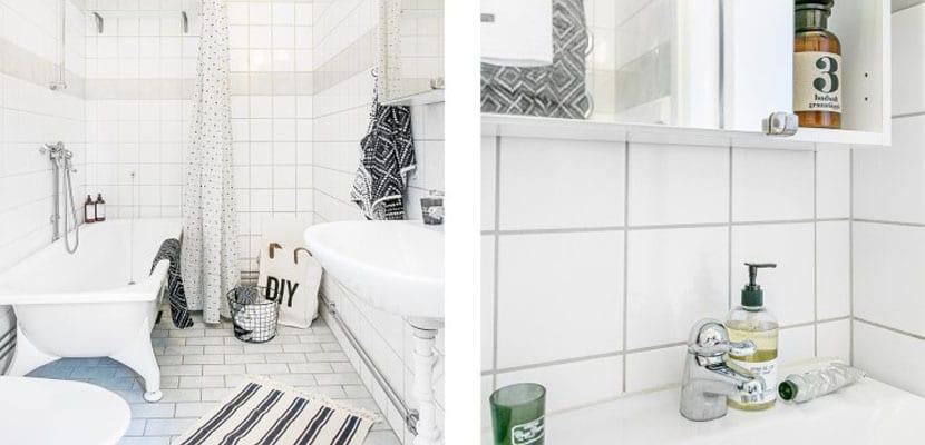 Baño de un mini piso