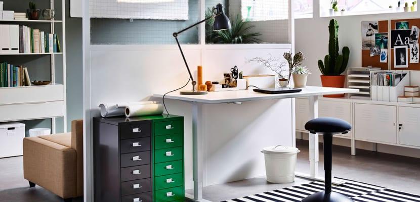 Muebles básicos de oficina