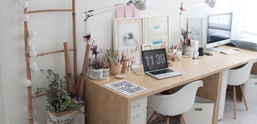50 trucos para organizar tu casa incluye ebook gratis for Oficinas modernas en casa