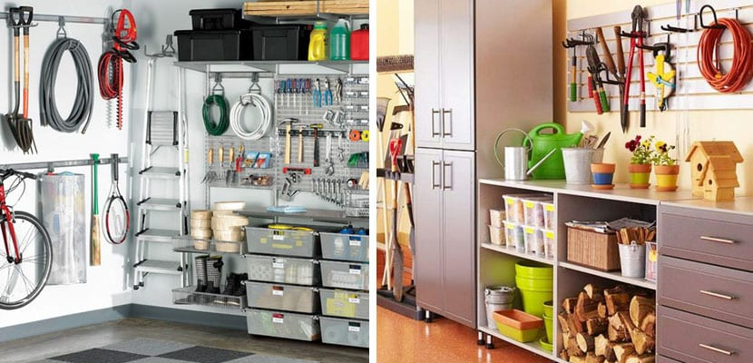 Ideas para organizar el garaje for Muebles para garaje