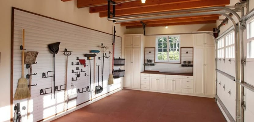 Organizar el garaje