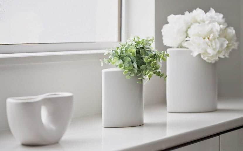 plantas artificiales casa