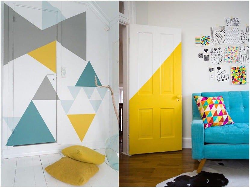 Ideas para pintar las paredes de tu casa - Pintar puertas de casa ...