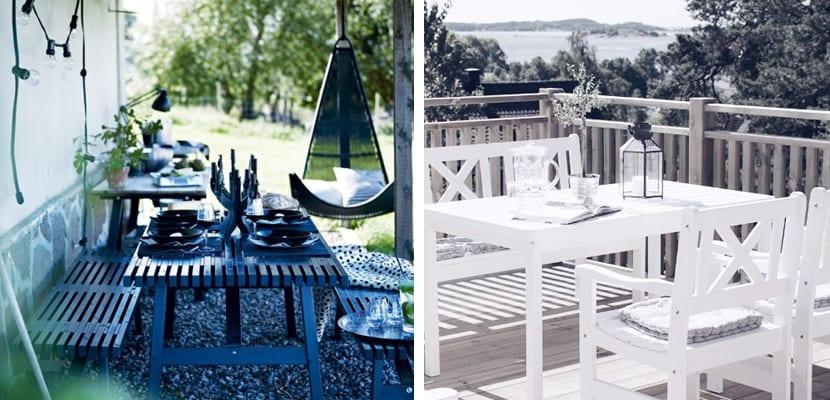 Decorar una terraza con estilo escandinavo for Mesa comedor estilo escandinavo