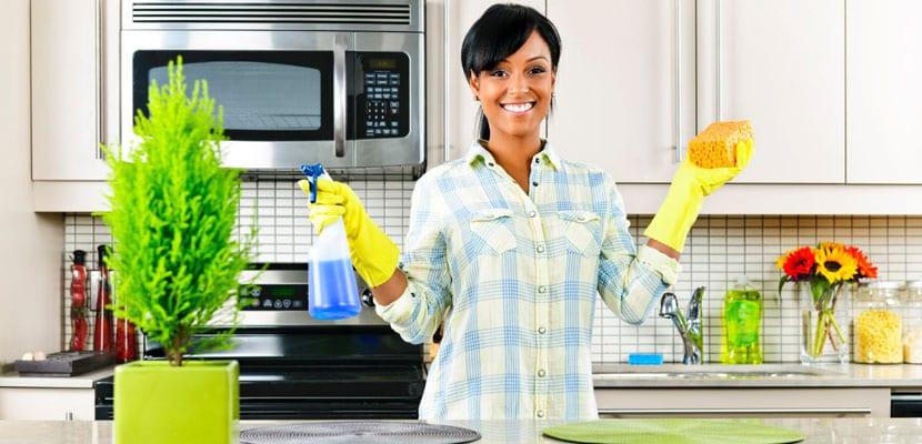 Trucos para mantener la cocina limpia