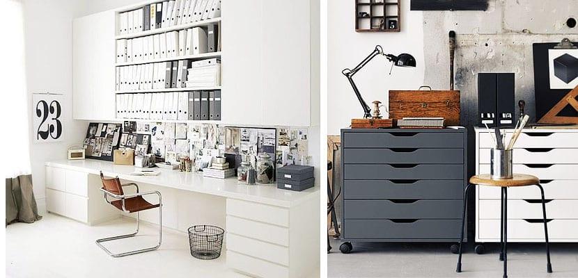 Diferentes propuestas de almacenamiento para tu oficina