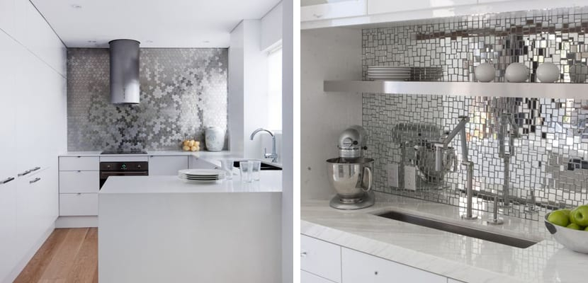 Azulejos metalizados para el hogar for Ver azulejos de cocina