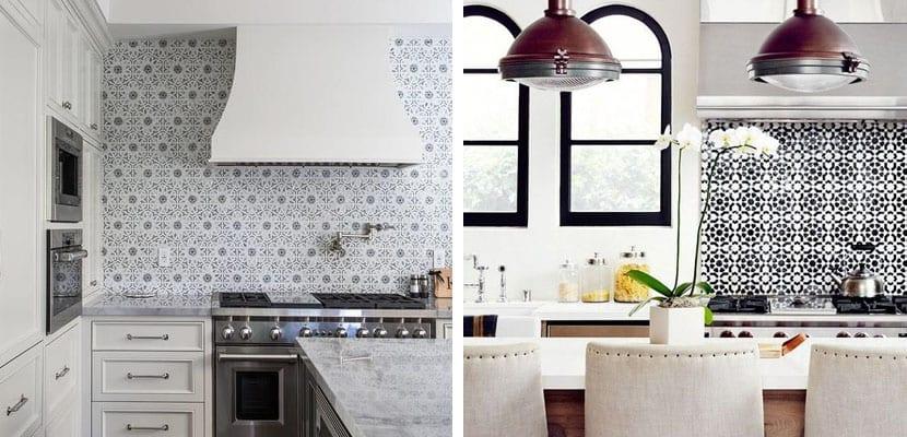 Azulejos tipo mosaico para la cocina un estilo original - Limpiar azulejos cocina para queden brillantes ...