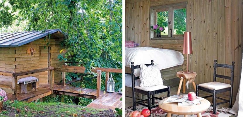 Casa de madera de estilo rústico