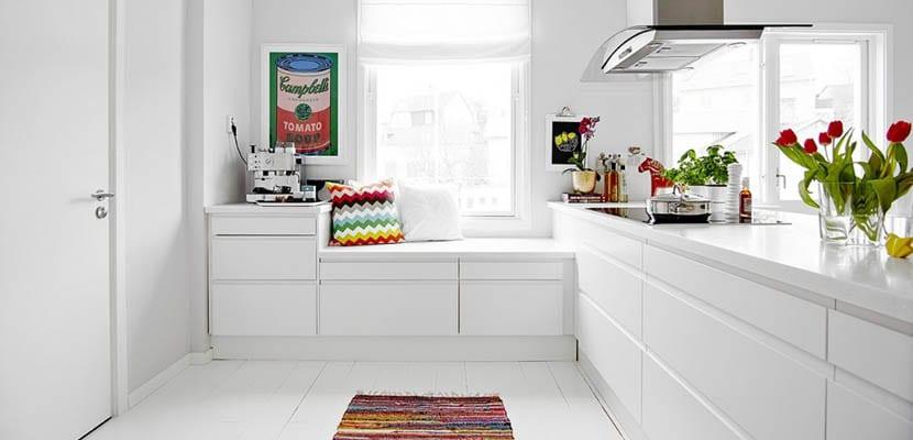 Ventajas de las cocinas sin tiradores for Tiradores para muebles de cocina