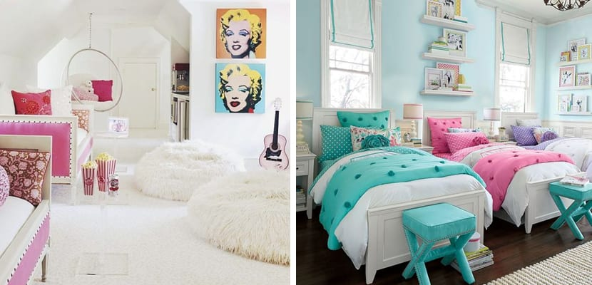 Dormitorio compartido para niñas