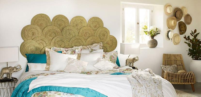 Dormitorio boho de Zara Home