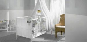 Habitaciones de bebé en tonos neutros