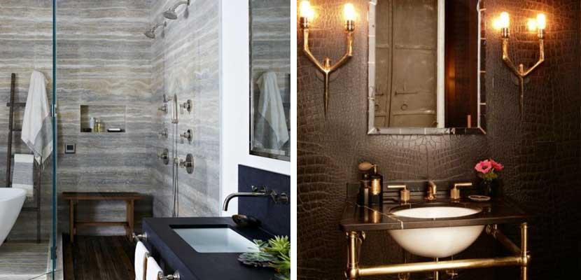 Loft con estilo masculino y tonos oscuros - Fotos de lofts decorados ...