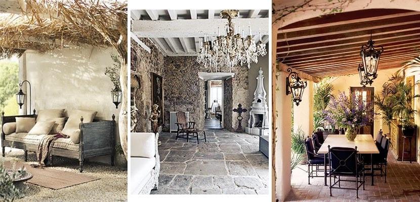 Porches de estilo r stico tradicional c mo decorarlos for Decorar un porche con plantas