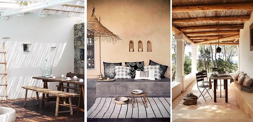 Porches de estilo r stico tradicional c mo decorarlos - Decorar porche pequeno ...
