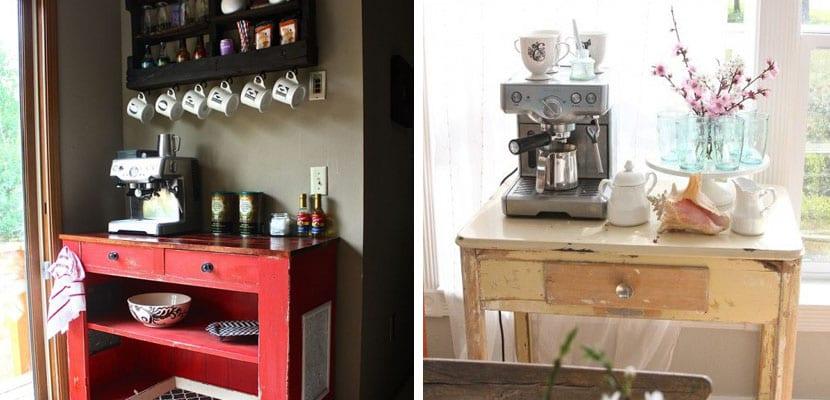 Zona de café vintage