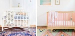 Alfombras para la habitación del bebé