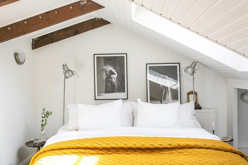 El color mostaza para decorar tu dormitorio