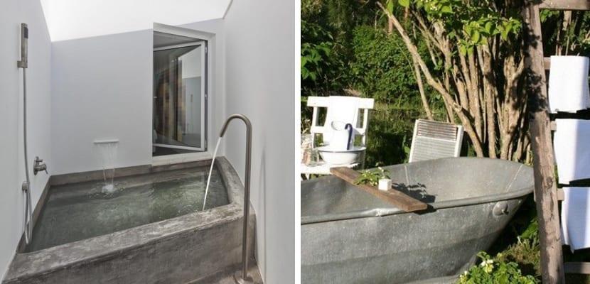 Ideas originales para un baño exterior