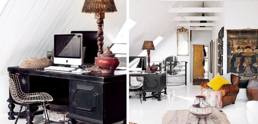 Casa sueca original con muebles vintage for Muebles de oficina vintage