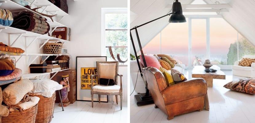 casa sueca original con muebles vintage