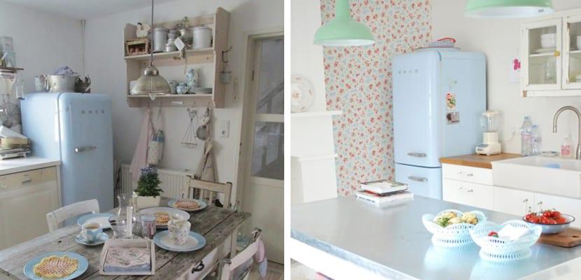 Ideas para decorar una cocina vintage