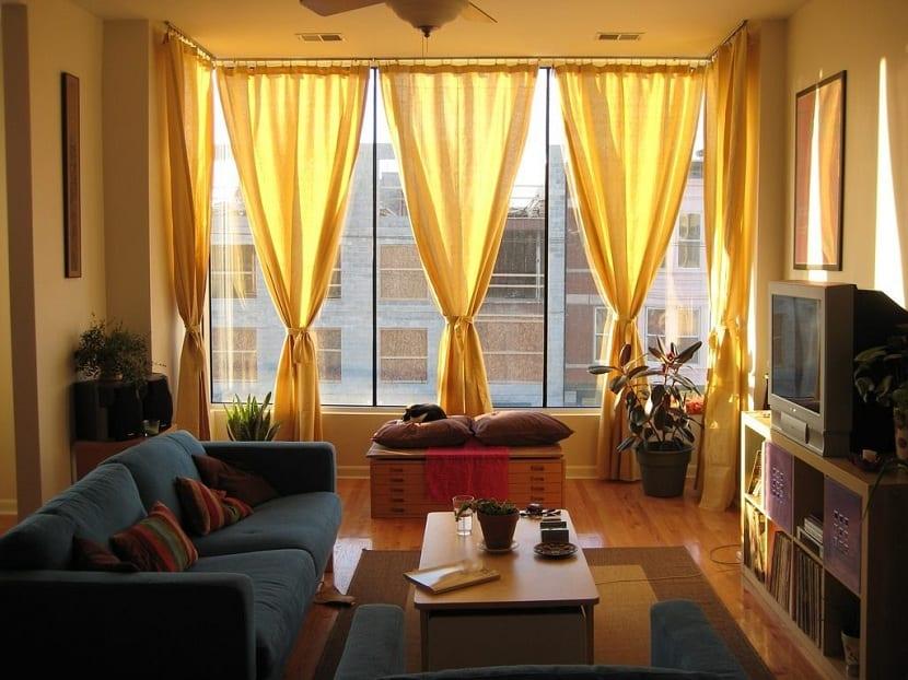 cortinas salón