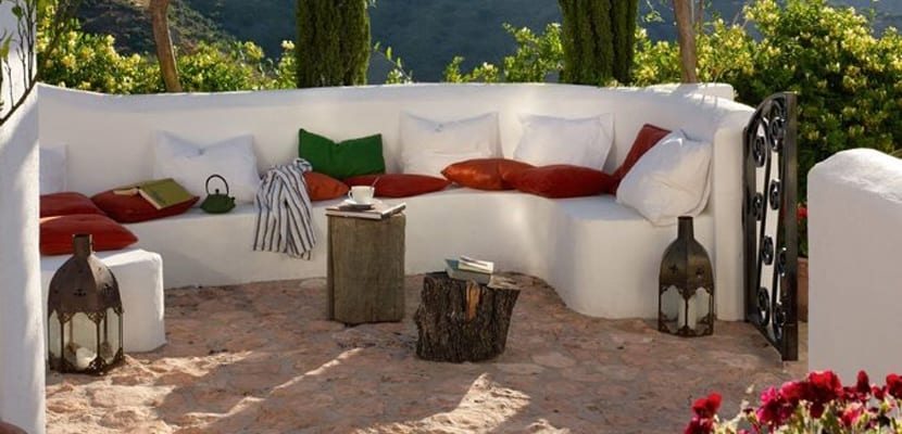 Terraza estilo chill out
